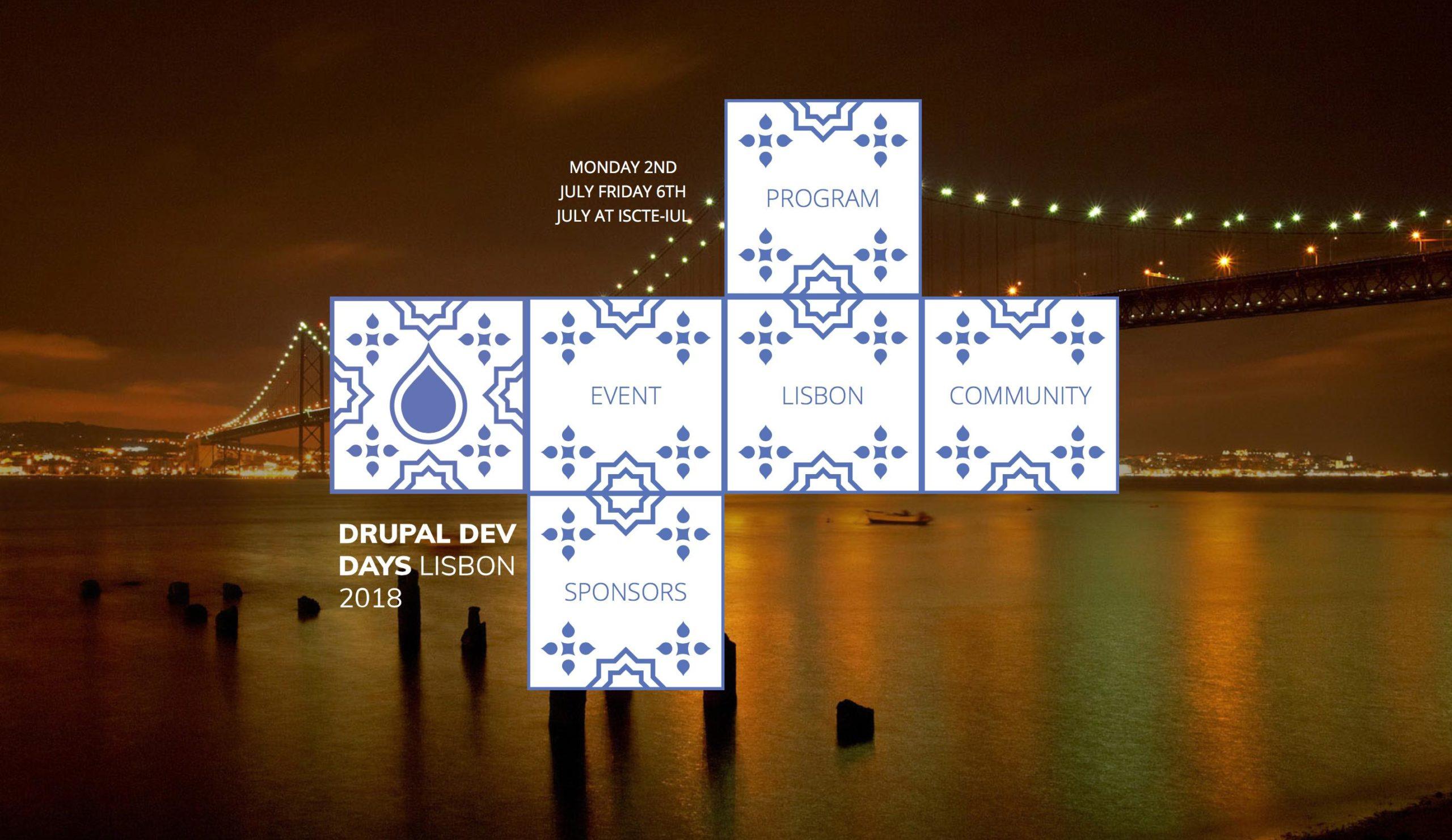 Drupal Dev Days Lisbon 2018