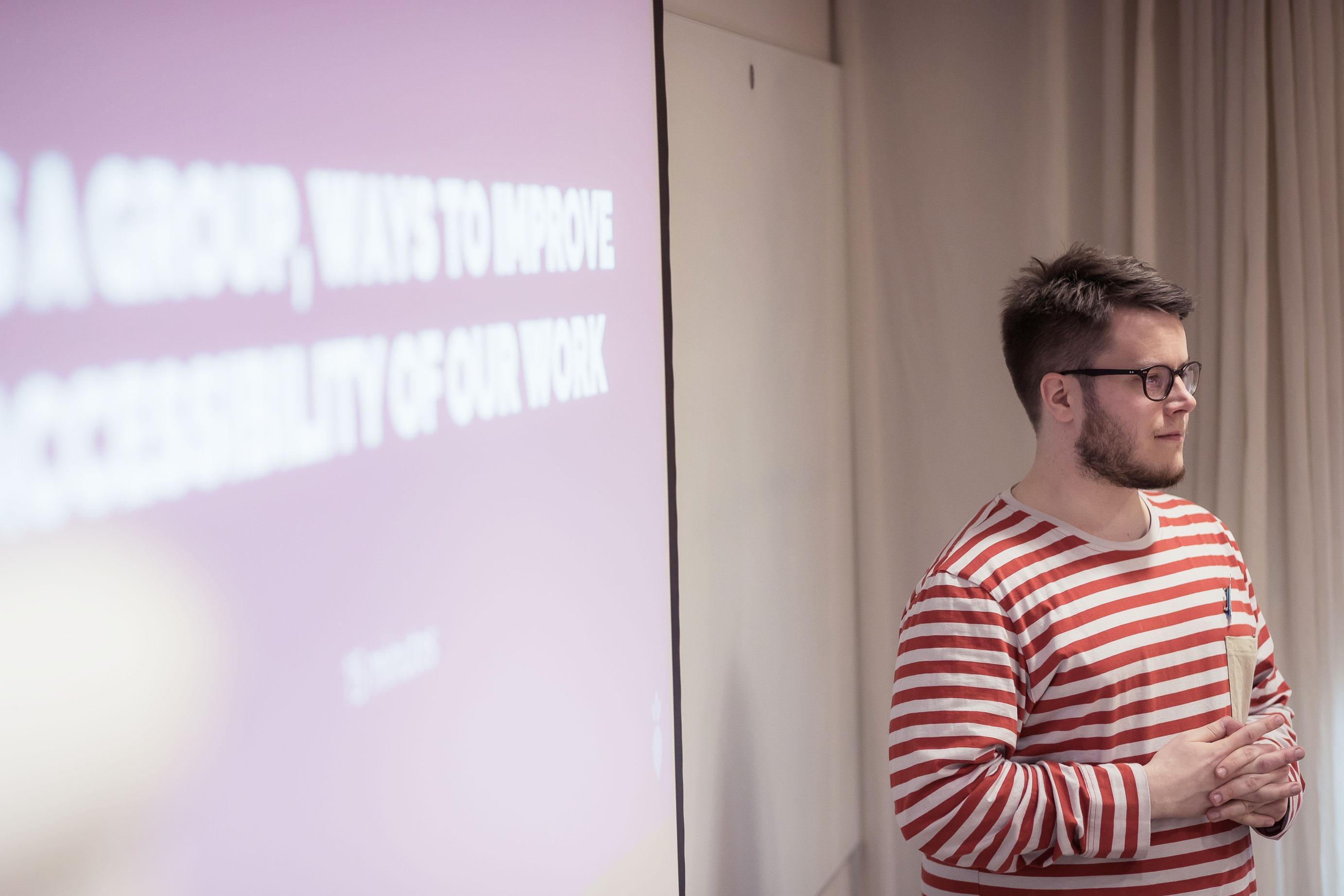 Otso Lahti Speaking