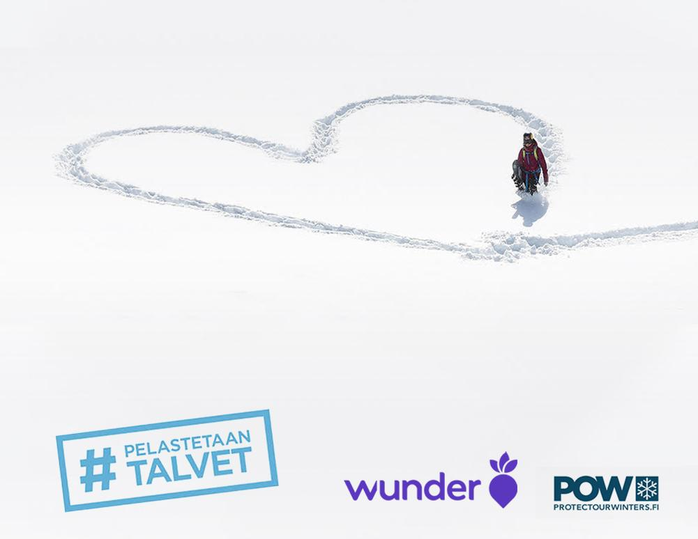 Wunder and Protect Our Winters Finland