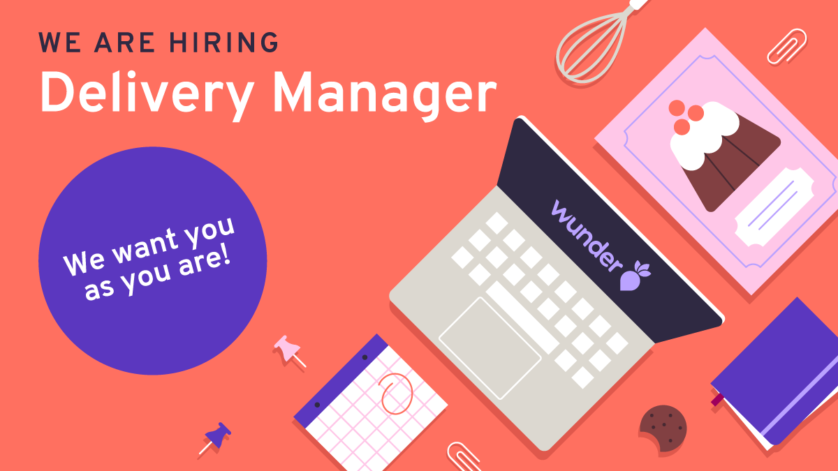 Derivery manager workplace with hobby elements