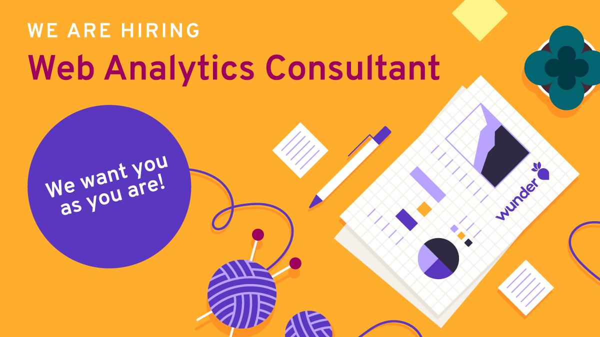 Web analytics consultant workplace with hobby elements