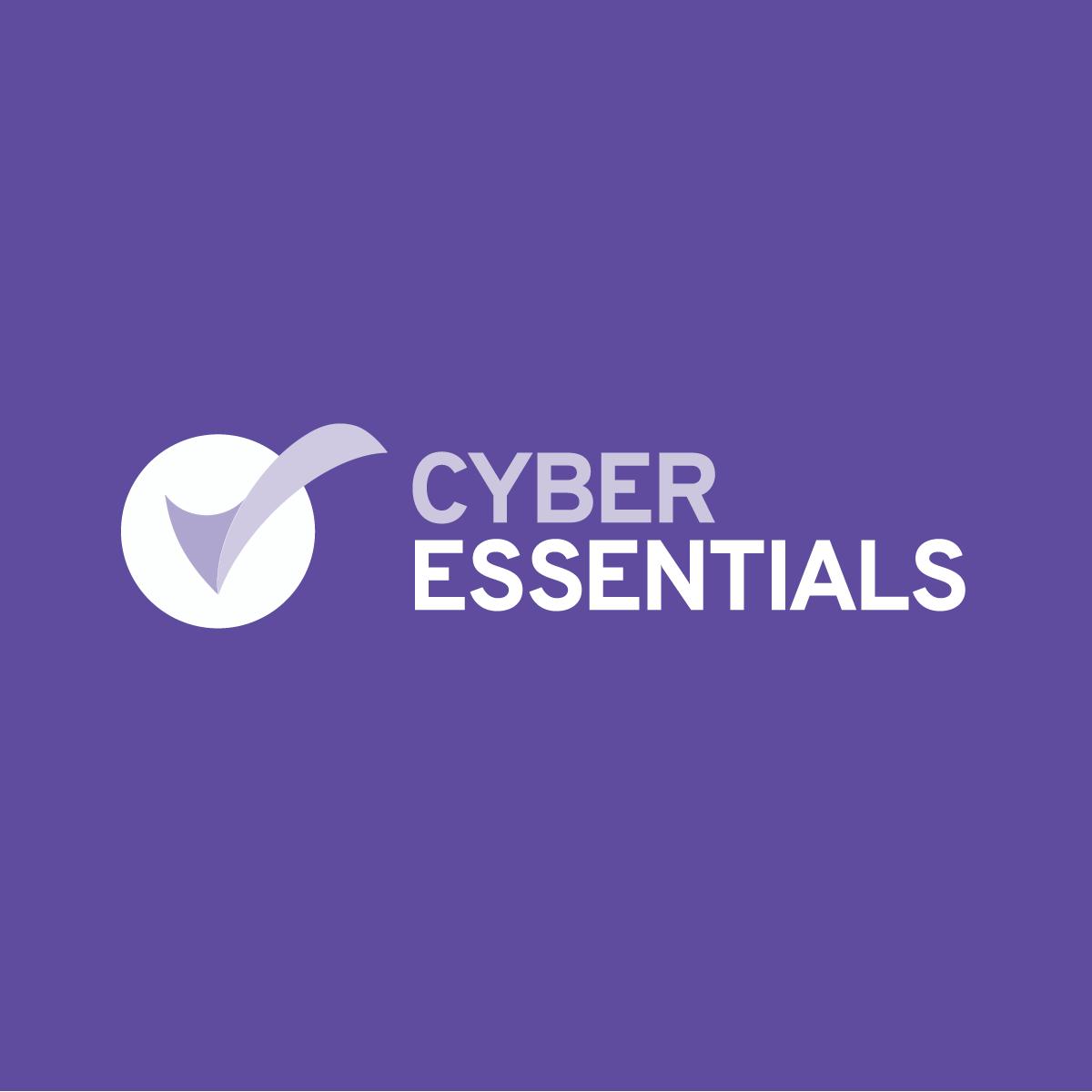 Cyber Essentials logo on purple