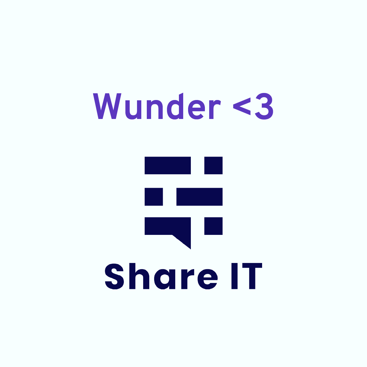 Wunder loves Share IT